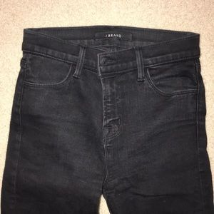 Black skinny J Brand jeans perfect condition